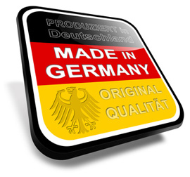 Unser Comfort 44 wird in Deutschland gefertigt: Dies sichert eine hohe Qualität und Arbeitsplätze!