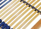 Unser Comfort 44 ist mit 44 Federholzleisten ausgestattet, dies schon die Matratze und sorgt für eine optimale Verteilung des Gewichts.