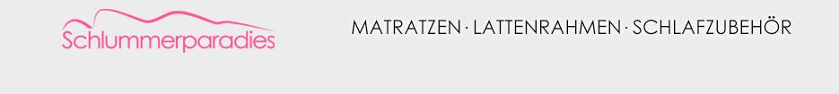 Schlummerparadies.de - Ihr Hersteller für Matratzen und Lattenroste