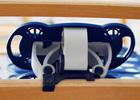 Für eine höhere Stabilität, werden die Seitenholme aus Schichtholz gefertigt!